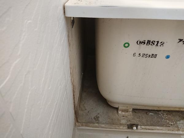 長崎・時津で浴室のクリーニング・浴槽エプロン内の洗浄